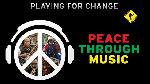 We support Playing for Change